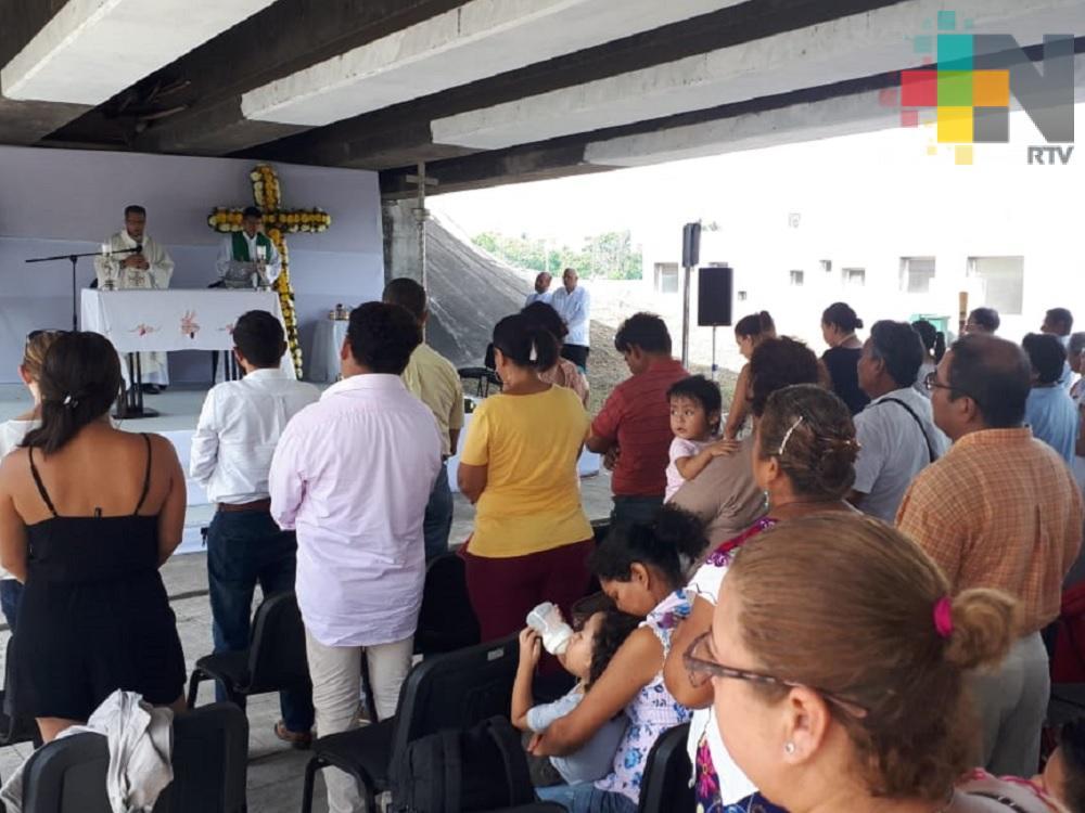 Con misa pescadores de Boca del Río celebran su día