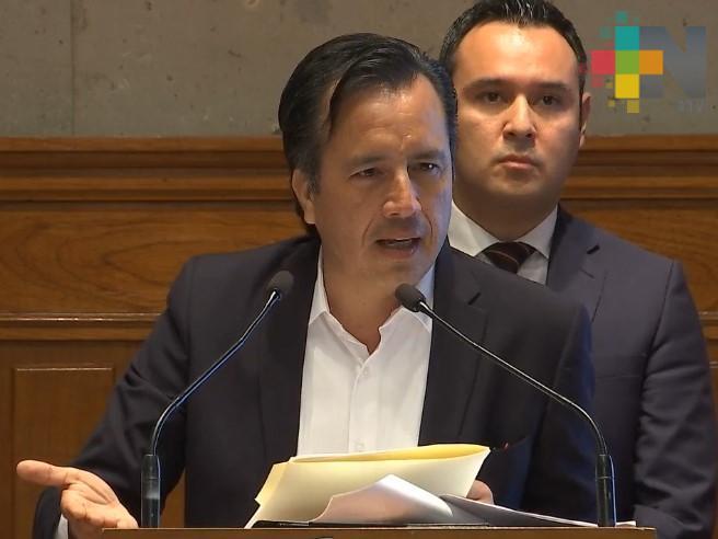 Reestructuración de deuda pública de Veracruz liberará flujos por 2 mil 700 mdp: Cuitláhuac García Jiménez