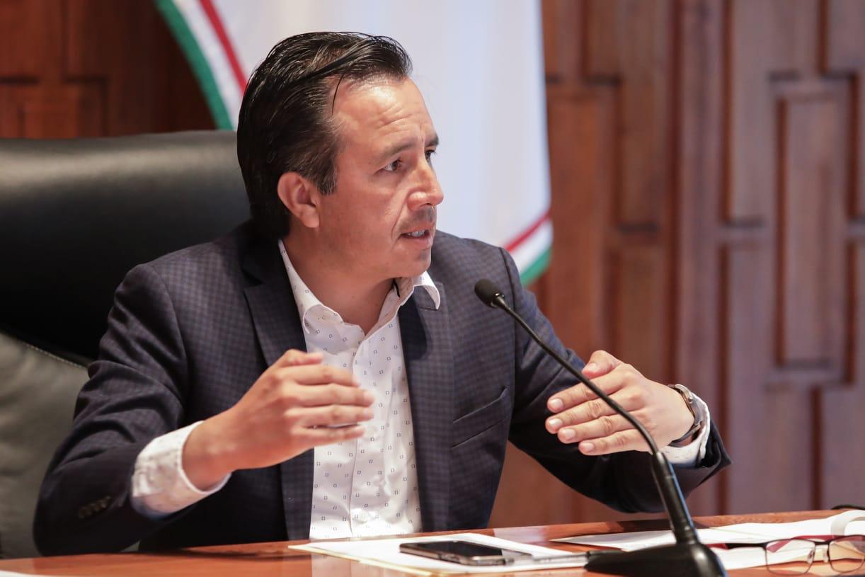 Asiste el gobernador Cuitláhuac García, a la Mesa de Seguridad Nacional; se analizó el caso de Coatzacoalcos