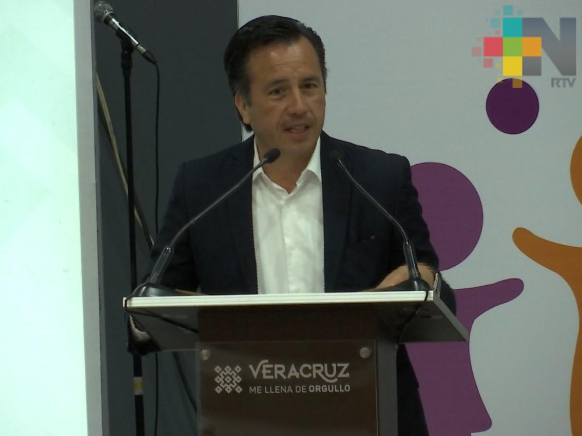 Gobernador encabeza séptima sesión ordinaria del Sipinna del estado de Veracruz