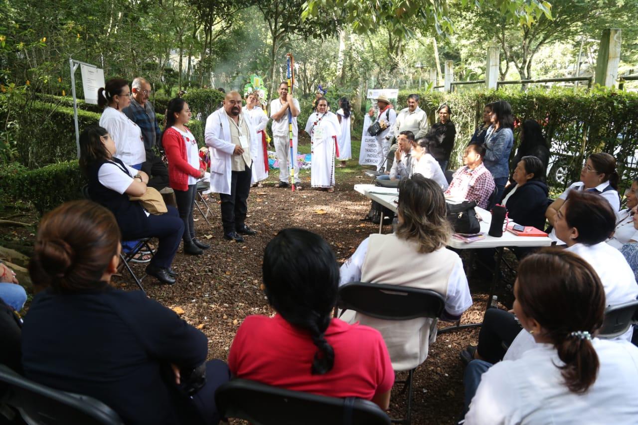 Inauguró la Secretaría de Salud el Cuarto Curso de Medicina Tradicional Indígena Mexicana