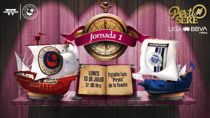 Entrada gratuita para el Veracruz vs Querétaro