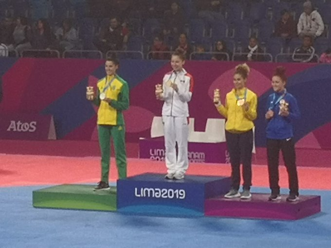 Mexicana Daniela Souza es monarca panamericana de taekwondo