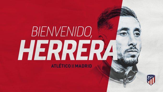 ¡Es oficial! Héctor Herrera jugará con el Atlético de Madrid