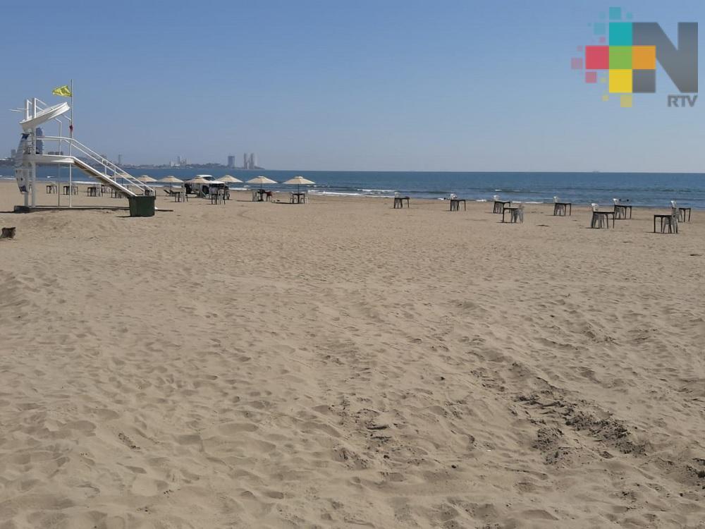 Playa Santa Ana, buena opción para esta temporada vacacional