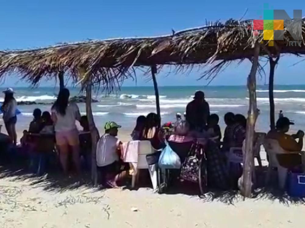 Gran derrama económica se espera este fin de semana en el puerto de Tuxpan