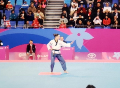 Paula Fregoso da a México primera medalla de oro en Lima 2019