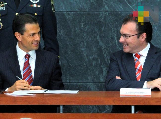Jueza rechaza citar a Peña Nieto y Videgaray en caso Lozoya