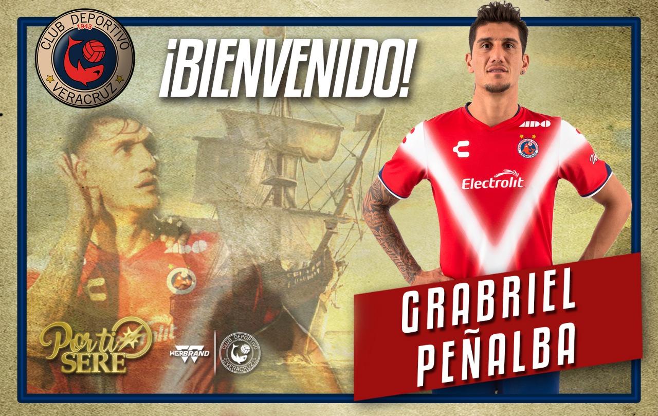 Gabriel Peñalba regresa a Veracruz