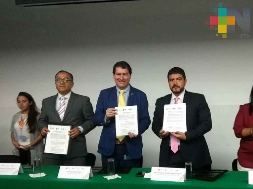 SEV e Inecol firman convenio para fortalecer la cultura científica, tecnológica y educación ambiental