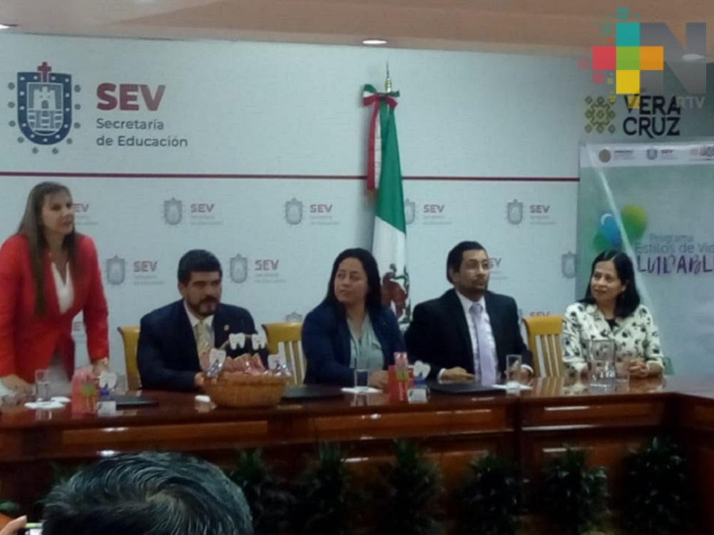 SEV firma convenio con fundación de la Asociación Dental Mexicana