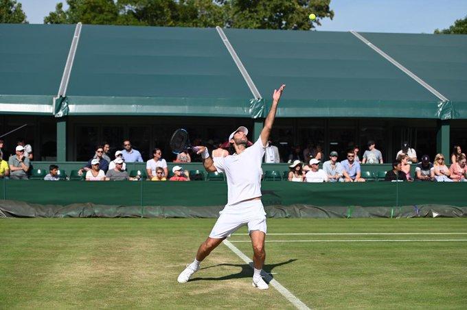 Santiago González avanzó una ronda más en Wimbledon