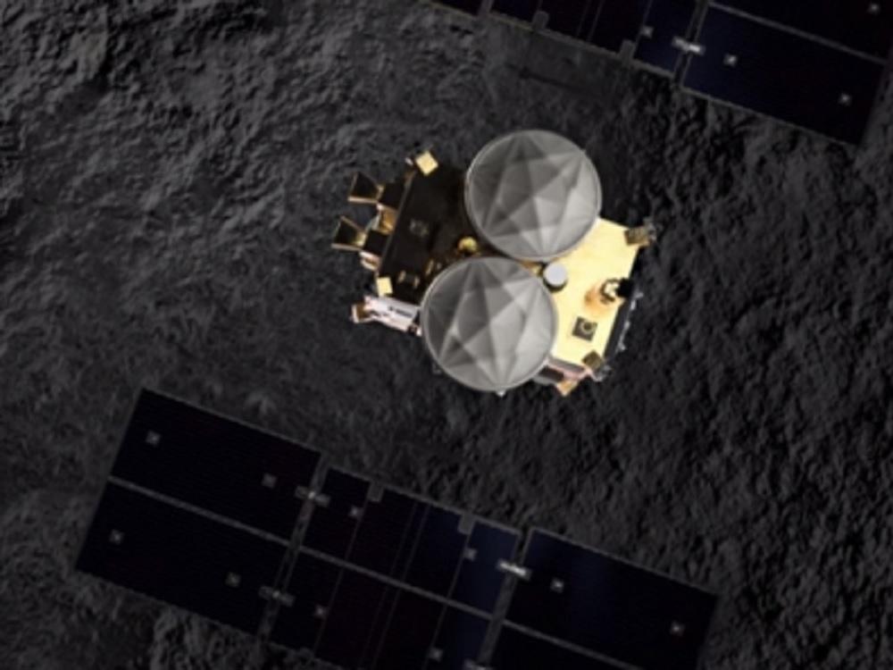 Sonda espacial japonesa se dispone a recoger rocas de asteroide Ryugu