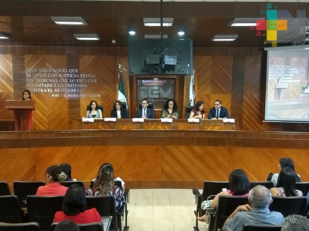 Tribunal Electoral realizó foro sobre resoluciones con perspectiva de género