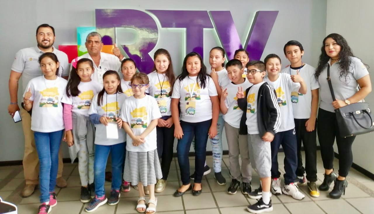 Con niños cuentacuentos, Editora de Gobierno presenta cuentos infantiles en RTV