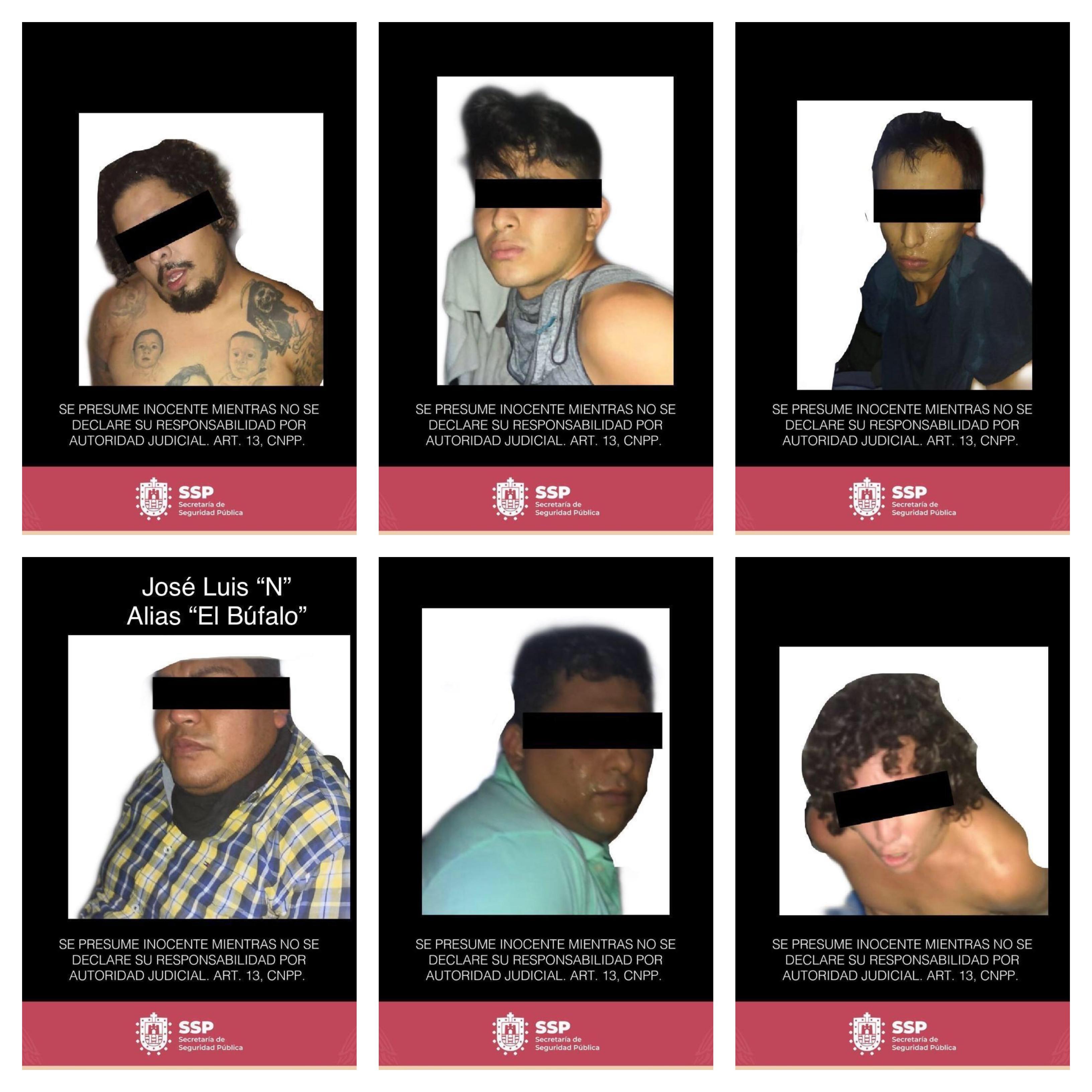Desmantela SSP banda presuntamente dedicada a delitos contra la salud