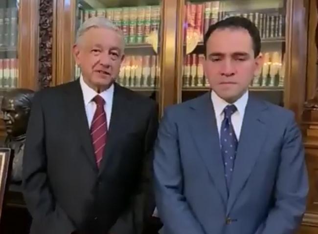 AMLO acepta renuncia de Carlos Urzúa y designa a Arturo Herrera