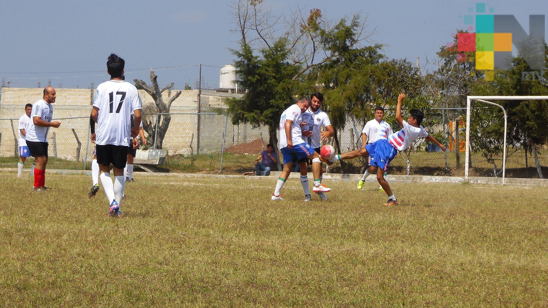 Actividad de Liga Regional de Futbol de Chicuasen