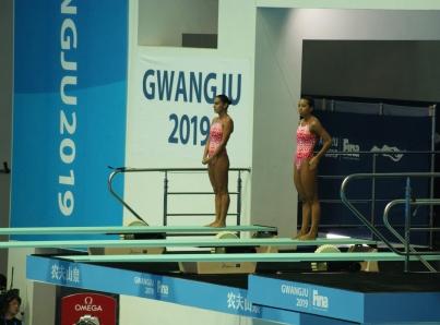 Paola Espinosa y Melany Hernández obtienen bronce en Mundial de Natación