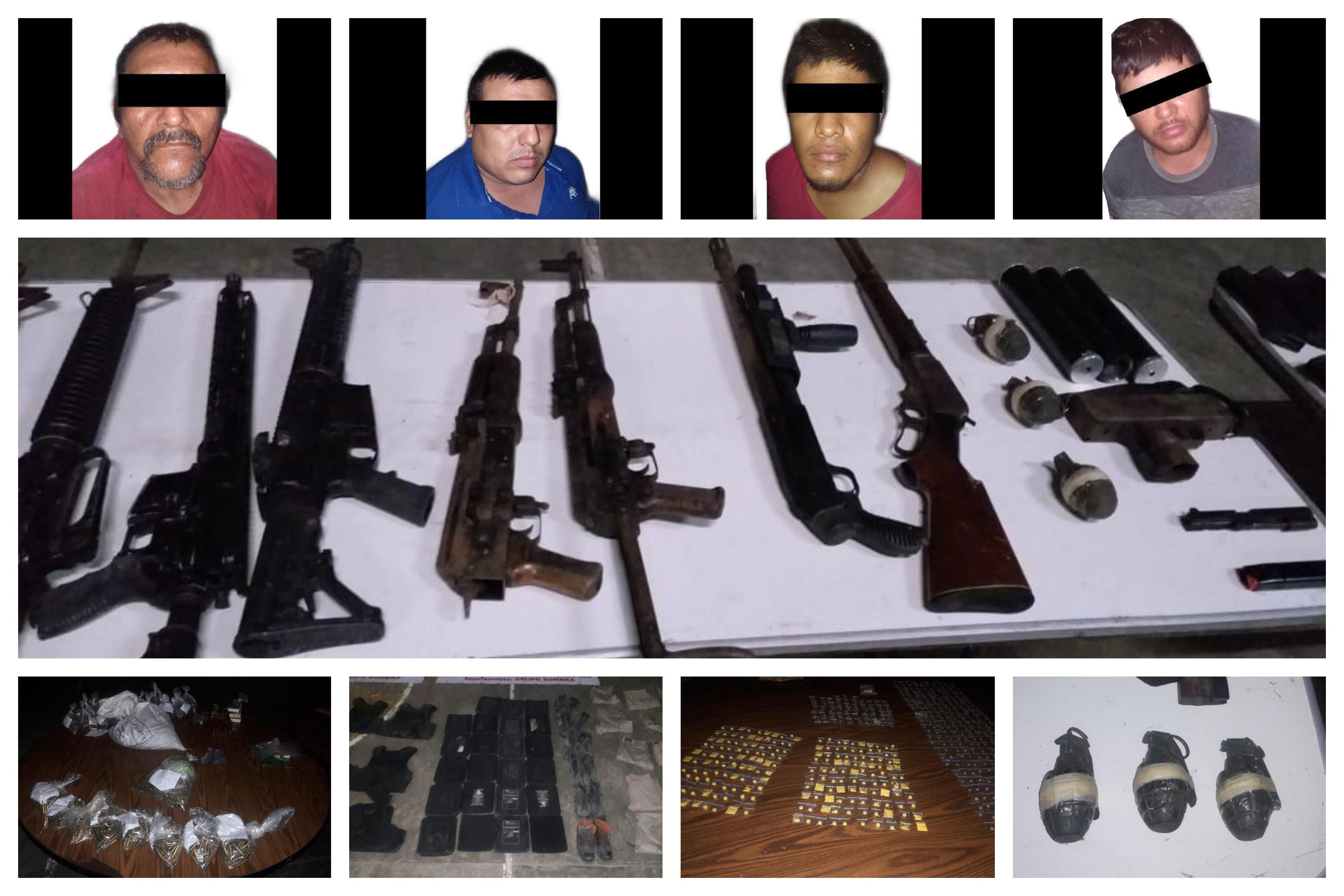 Capturan a presunto grupo delictivo que intentó secuestrar a mujer, en Pánuco