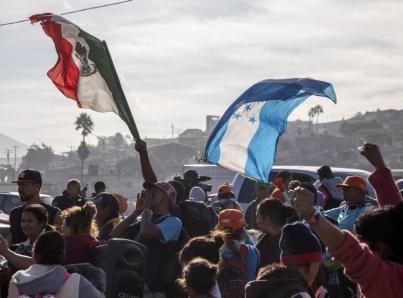 Hondureños son los migrantes que más han ingresado a México este año