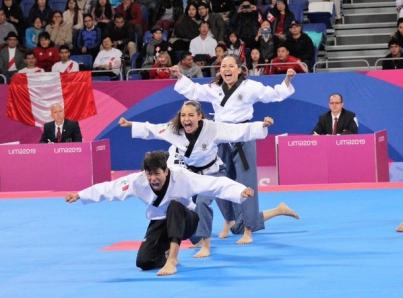 México logra segundo oro en Taekwondo Poomsae, ahora en parejas