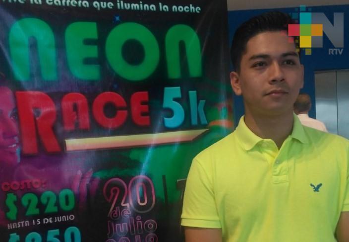 Anuncian Neon Race Coatzacoalcos