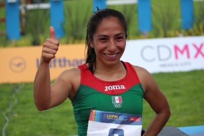Mariana Arceo da el oro a México en el pentatlón moderno