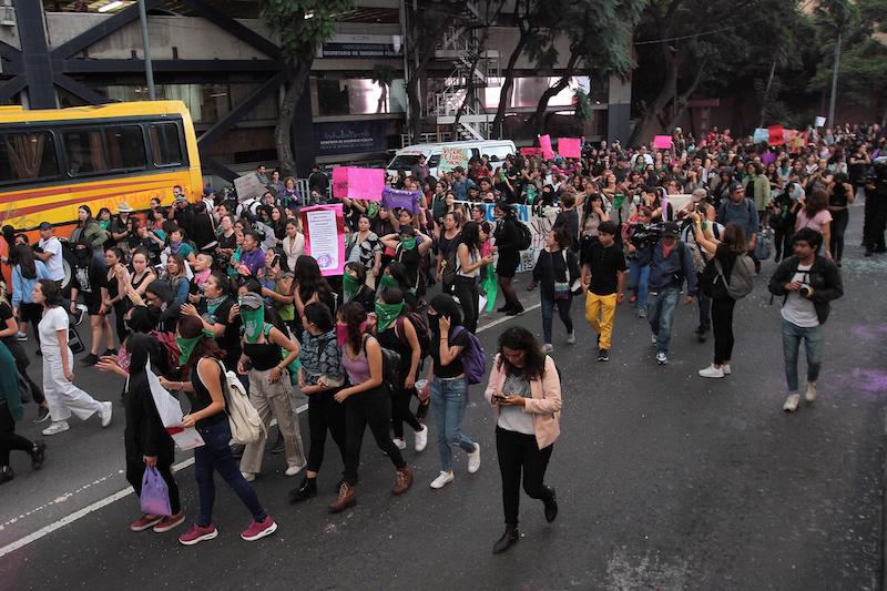 Policía capitalina actuó conforme a lo establecido ante marchas: Orta Martínez