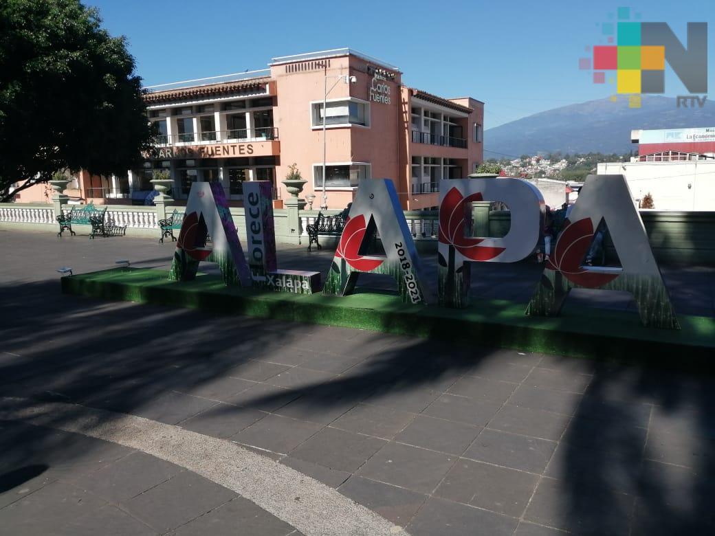 Xalapeños mostraron creatividad tras robo de una de las letras monumentales
