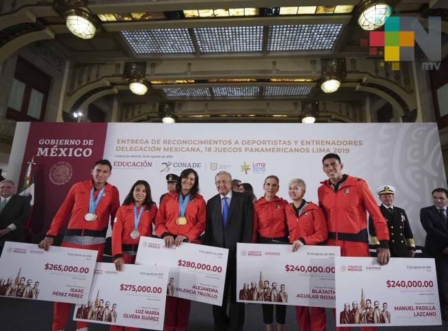 De 540 mil hasta 720 mil pesos, apoyos a deportistas de Panamericanos