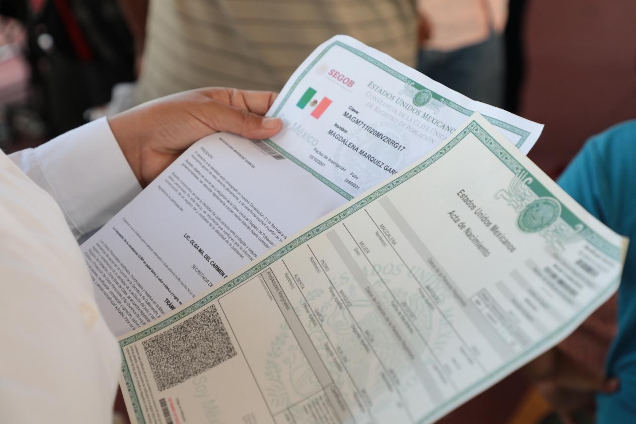 Registro Civil en Tuxpan únicamente tramitará actas de nacimiento y defunción
