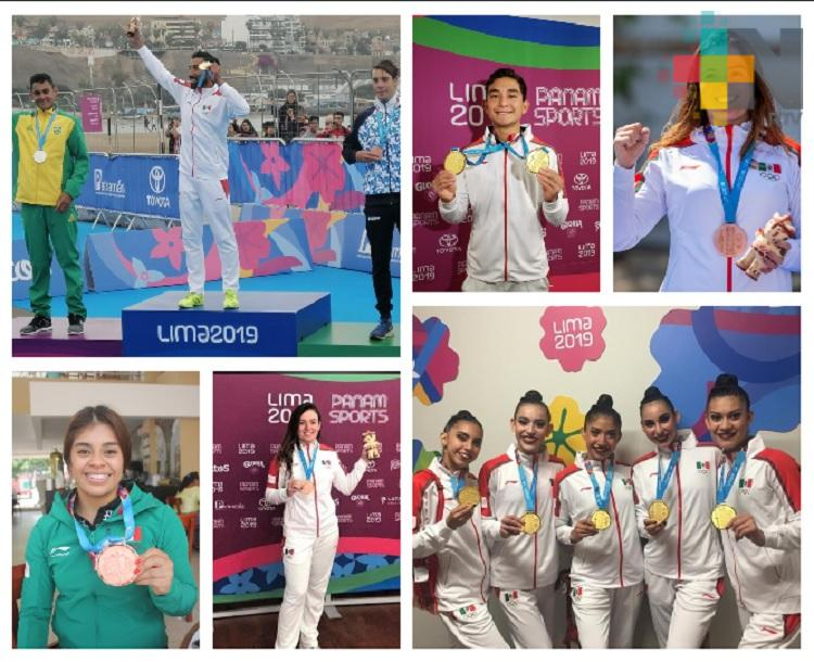 Actuación histórica de atletas veracruzanos en Lima 2019