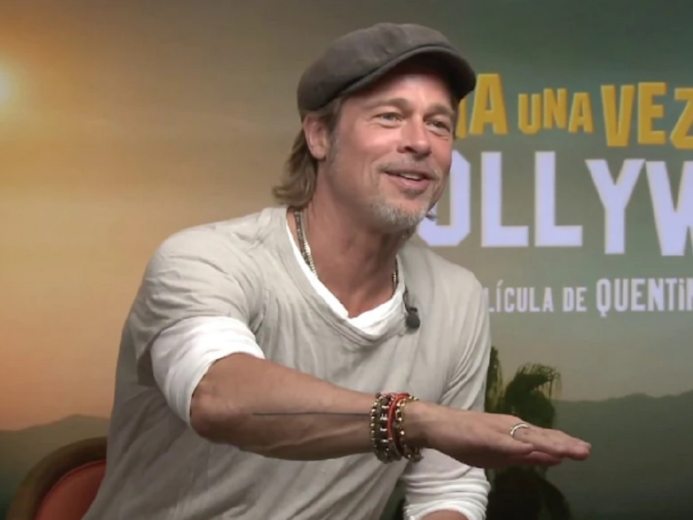 A Tarantino se le tacha de misógino, pero no lo es, señala Brad Pitt
