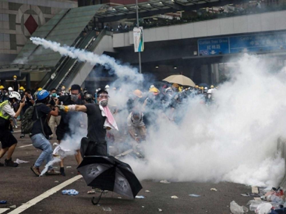 China alerta por «signos de terrorismo» en Hong Kong