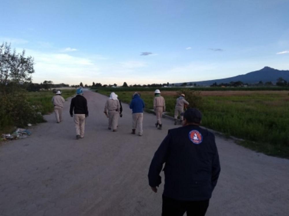 Cierran autopista Puebla-Orizaba por fuga de gas en ducto