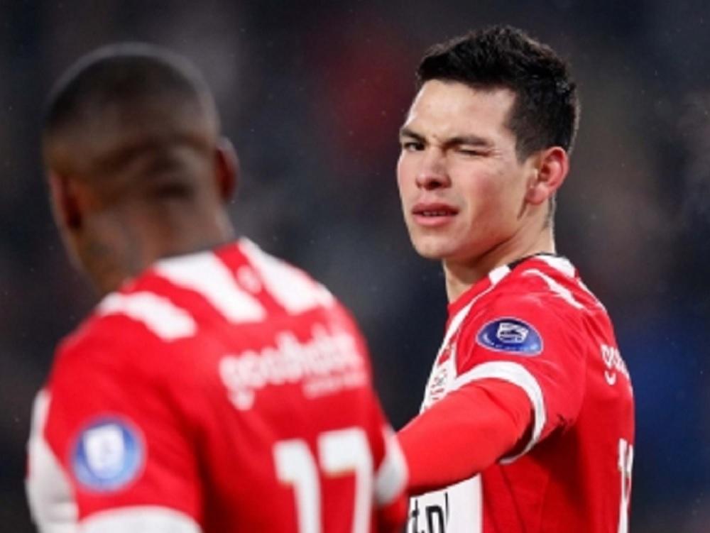 """Con """"Chucky"""" Lozano en duda, PSV va por otro paso más en Liga Europea"""