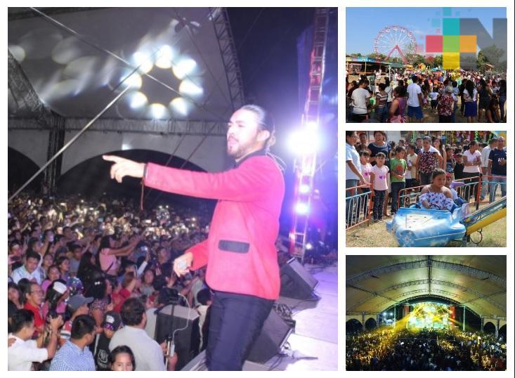 Concluye Feria Patronal y del Mueble Misantla 2019