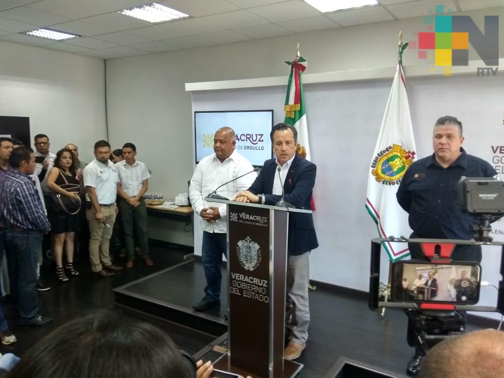 En Veracruz respeto absoluto y aplicación de la ley; no hay venganzas: Cuitláhuac García