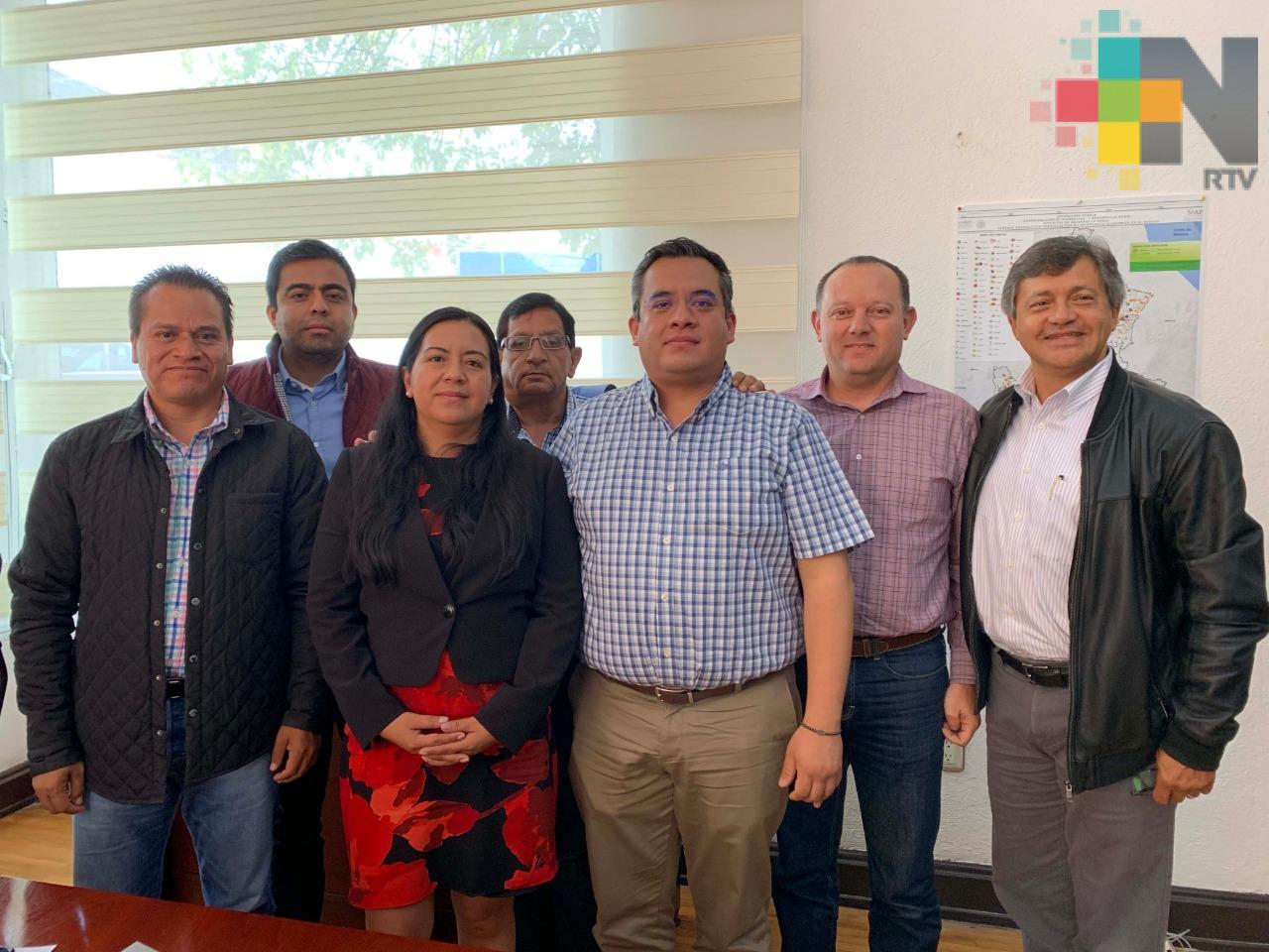 Suman esfuerzos Veracruz y Puebla en beneficio del sector agropecuario