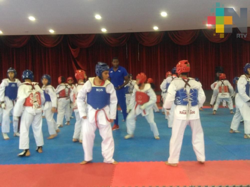 En Coatzacoalcos realizan sexto seminario de tácticas de combate de taekwondo