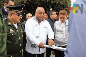Eric Cisneros visita Villa Aldama, previo a la celebración del 131 Aniversario de la Editora de Gobierno