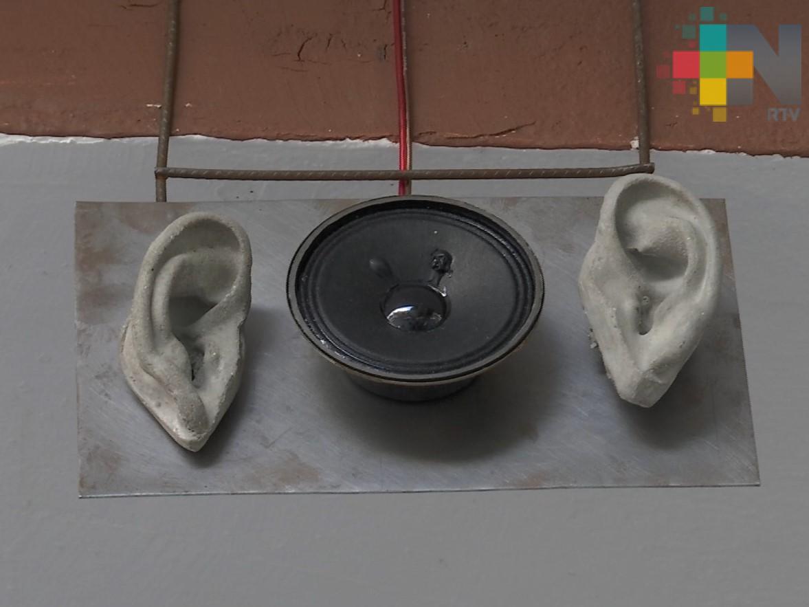 """""""Así Escuchames Todes"""", propuesta escultórica en Biblioteca Carlos Fuentes"""