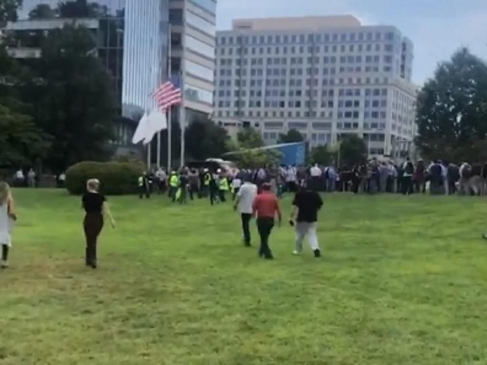 Evacuan diario USA Today por presencia de hombre armado