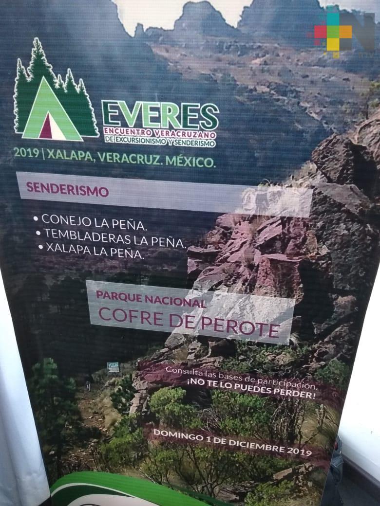 """Presenta Sectur """"EVERES"""": Primer Encuentro de Excursionismo y Senderismo"""