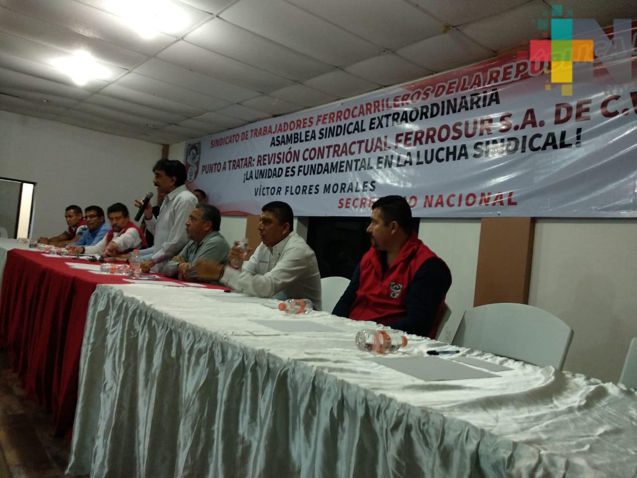 Ferrocarrileros esperan mayor flujo de mercancía con el corredor del Istmo de Tehuantepec