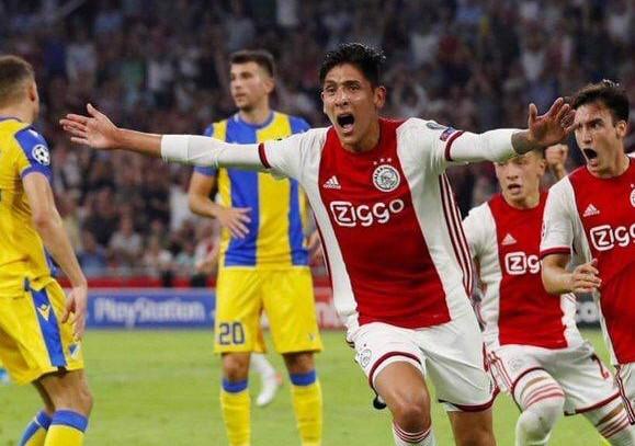 Ajax y Edson Álvarez cerca de ser campeones en Eredivisie