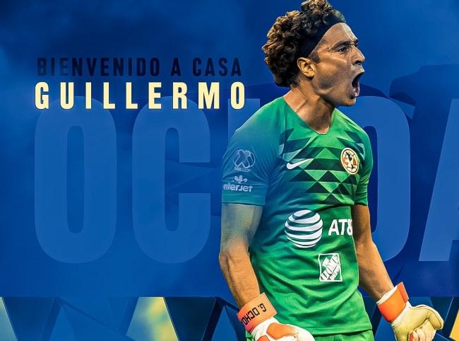 América hace oficial llegada de Guillermo Ochoa