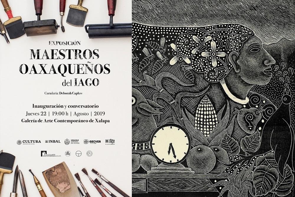 """Exposición """"Maestros oaxaqueños del IAGO"""" en GACX"""