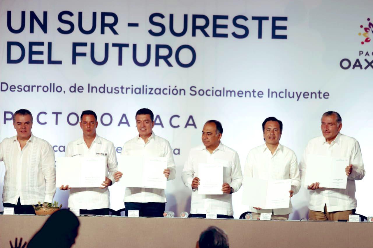 Asiste el gobernador Cuitláhuac García a trabajos del Programa de Desarrollo del Istmo de Tehuantepec